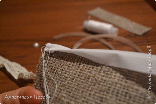 Хочу поделиться с Вами мастер-классом по созданию простых, но милых мешочков для изделий ручной работы. Я их использую для упаковки своих сутажных украшений. фото 3