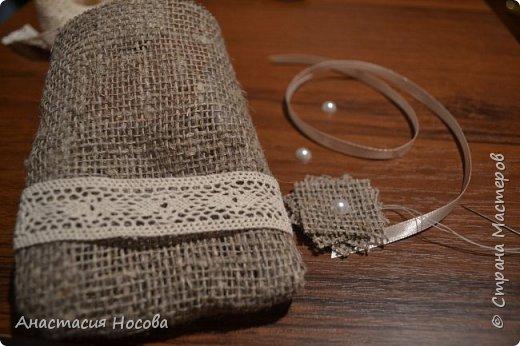 Хочу поделиться с Вами мастер-классом по созданию простых, но милых мешочков для изделий ручной работы. Я их использую для упаковки своих сутажных украшений. фото 8