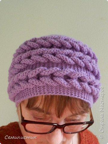 Доброе время суток, Страна!!!  Однажды увидела шапочку с интересным узором http://stranamasterov.ru/node/683572?c=favorite_b   Захотелось связать...Вот что получилось... фото 4