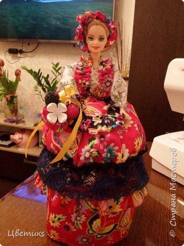 """Добрый день уважаемые мастерицы СМ и мои гости!  Хочу поделиться с вами как я делаю куклу-шкатулку и очень надеюсь, что мой МК вам понравится и будет в помощь.  В данном варианте сделана кукла на тему: """"""""Лето НЕ За горами"""".   Жду ваши комментарии и вопросы))) Заранее благодарю.   фото 38"""