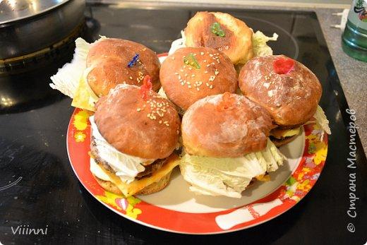 Чизбургера (Рецепт Гамбургера)