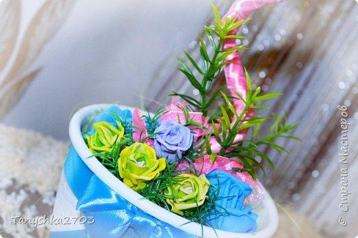 """Топиарий """"Розы"""" фото 4"""