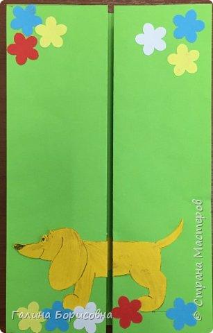 Делали мамам на 8 марта вот такие открытки. фото 1