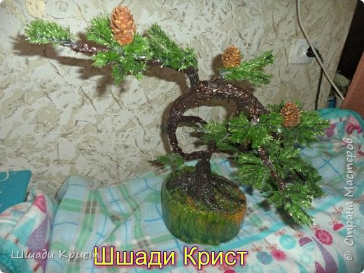 деревья искусственные в миниатюре. фото 2