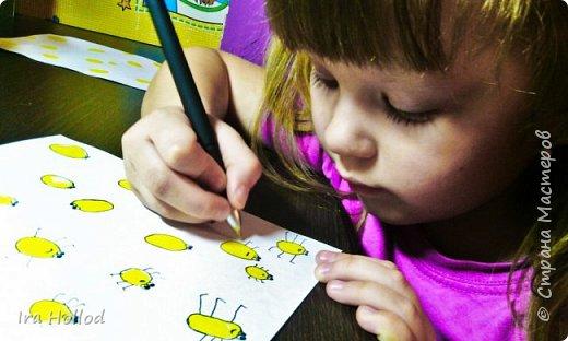 именно таких паучков мы и будем рисовать..Малышам очень нравится. фото 12
