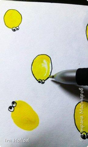 именно таких паучков мы и будем рисовать..Малышам очень нравится. фото 7