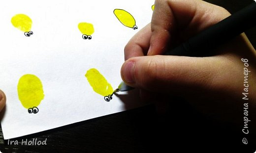 именно таких паучков мы и будем рисовать..Малышам очень нравится. фото 8