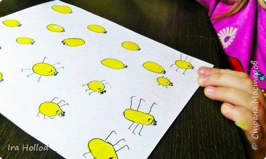 именно таких паучков мы и будем рисовать..Малышам очень нравится. фото 11
