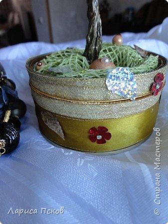 Доброго времени суток , дорогие соседи! К 8 Марта приготовила в подарок невестке подставку- дерево для бижутерии. фото 2