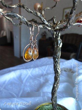 Доброго времени суток , дорогие соседи! К 8 Марта приготовила в подарок невестке подставку- дерево для бижутерии. фото 4