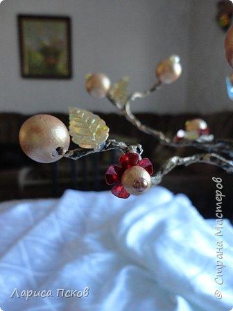 Доброго времени суток , дорогие соседи! К 8 Марта приготовила в подарок невестке подставку- дерево для бижутерии. фото 5