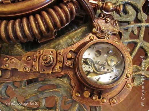 Часики стимпанк. Мой первый сознательный опыт в этом стиле. фото 10