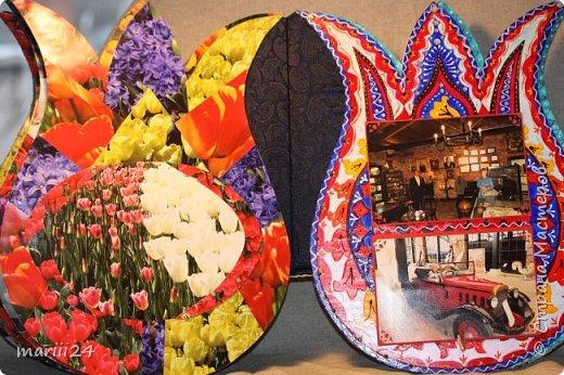 Добрый день,уважаемые мастера и  мастерицы. Хочу сегодня вам показать альбом, который я сделала для  моих родителей.  Моя мама большая любительница цветов (надо сказать они отвечают ей взаимностью). И она не только любит их выращивать, она обожает всевозможные выставки, парады и т.п. события из жизни цветов.  В прошлом году мои родители с моим старшим сыном посетили Стамбул, в котором ежегодно весной проходит выставка тюльпанов. Этому путешествию и посвящен мой альбом. С обложкой к этому альбому я участвовала в конкурсе пейп-арта, который устроила гениальный мастер Татьяна Сорокина. Спасибо всем девочкам, которые голосовали за мою работу. фото 19