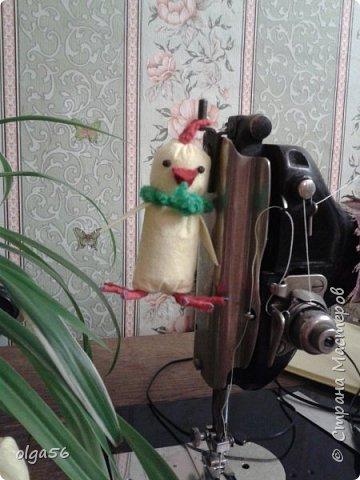 """Доброе время суток ,жители """"Страны Мастеров"""".Спасибо ,что делитесь своими работами и  идеями. Мне  очень понравился МК  Анешки и я решила   сделать и себе  таких  цыплят   http://stranamasterov.ru/node/1005896#photo2  Вроде все очень просто и материал доступный ,но каждый вносит что то свое. Вот  мои цыплята стоят на своих ножках в шкафу фото 15"""