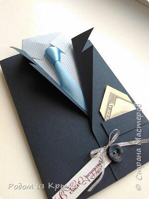Открытка сделана на день рождения, по желанию заказчицы без лишних штучек и цветочков...  фото 1