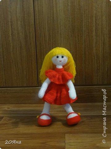 Здравствуйте, дорогие мастера и мастерицы! У меня появилась новая кукла. фото 2
