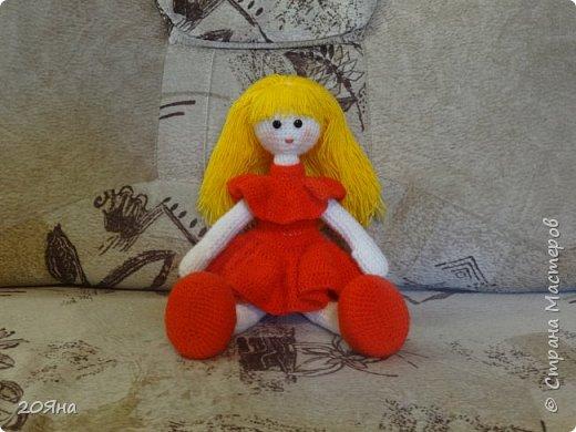 Здравствуйте, дорогие мастера и мастерицы! У меня появилась новая кукла. фото 1