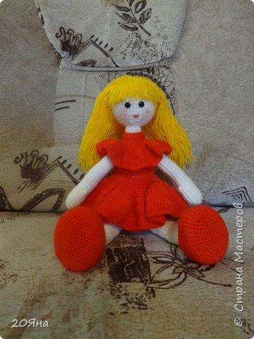 Здравствуйте, дорогие мастера и мастерицы! У меня появилась новая кукла. фото 3