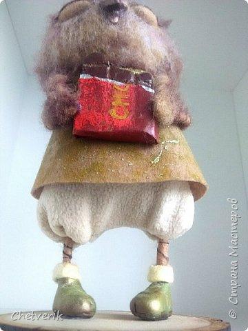 Вот и свалялась очередная сова по мотивам рисунков Инги Пальцер  фото 11
