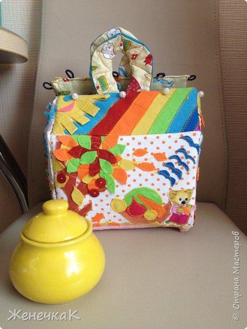 Вот и еще один домик сумка! Осень красавица и солнечный, радужный день на крыше. фото 15