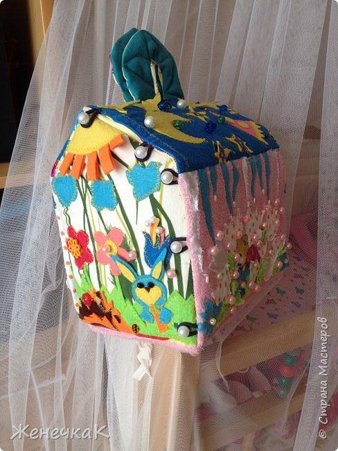 Вот и еще один домик сумка! Осень красавица и солнечный, радужный день на крыше. фото 2