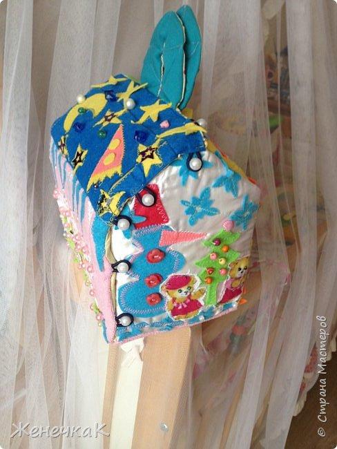 Вот и еще один домик сумка! Осень красавица и солнечный, радужный день на крыше. фото 4
