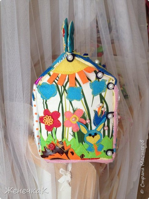 Вот и еще один домик сумка! Осень красавица и солнечный, радужный день на крыше. фото 5