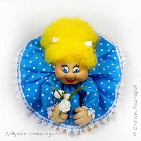 """""""Пусть удача поворачивается к Вам лицом, а не попой!""""  Кукла-попик «Алена-2» приносит удачу активным и жизнерадостным натурам.  фото 1"""