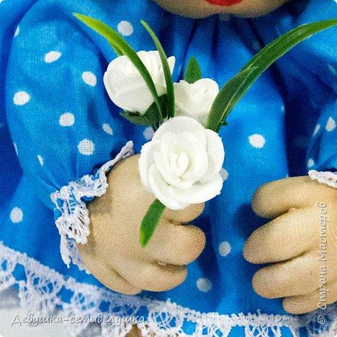 """""""Пусть удача поворачивается к Вам лицом, а не попой!""""  Кукла-попик «Алена-2» приносит удачу активным и жизнерадостным натурам.  фото 5"""
