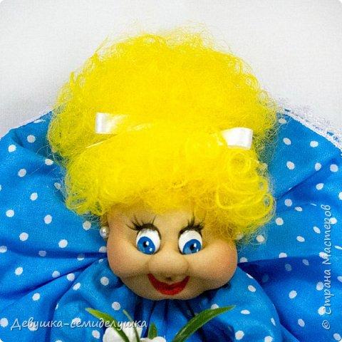 """""""Пусть удача поворачивается к Вам лицом, а не попой!""""  Кукла-попик «Алена-2» приносит удачу активным и жизнерадостным натурам.  фото 2"""