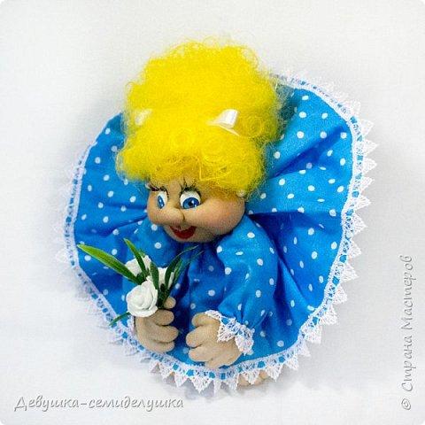 """""""Пусть удача поворачивается к Вам лицом, а не попой!""""  Кукла-попик «Алена-2» приносит удачу активным и жизнерадостным натурам.  фото 4"""