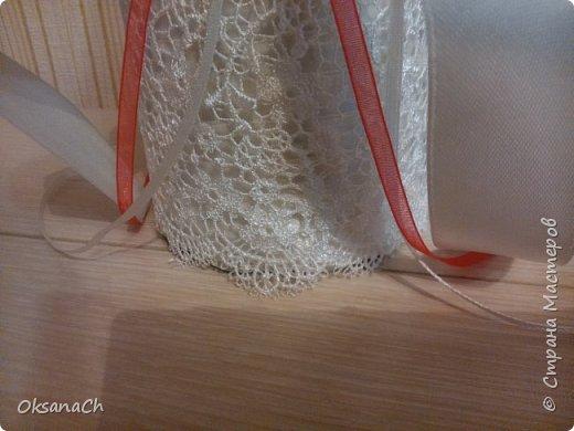 """Это подарок на Свадьбу моей подруге! Ленты и чудесное кружево приобрела в """"Леонардо""""  фото 3"""