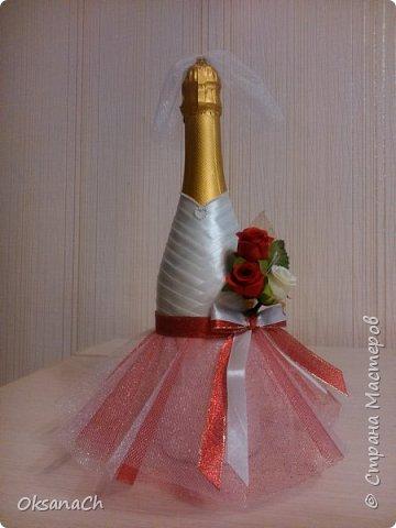 """Это подарок на Свадьбу моей подруге! Ленты и чудесное кружево приобрела в """"Леонардо""""  фото 4"""