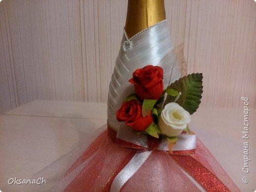 """Это подарок на Свадьбу моей подруге! Ленты и чудесное кружево приобрела в """"Леонардо""""  фото 5"""