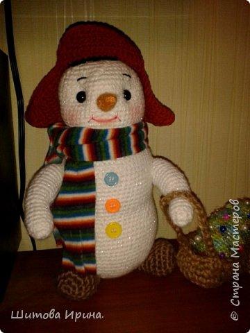 снеговик Проша...