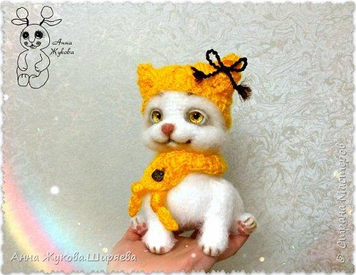 Белая кошечка Сильва. фото 3