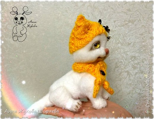 Белая кошечка Сильва. фото 4
