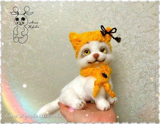 Белая кошечка Сильва. фото 5