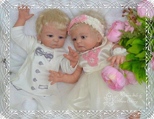"""Здравствуйте девочки-мастерицы! В моей мастерской """"родились"""" двойняшки- братик и сестричка Матвей и Миласлава.  Хочу вам их показать. Малыши ростом 56см, весом 3200гр. фото 10"""
