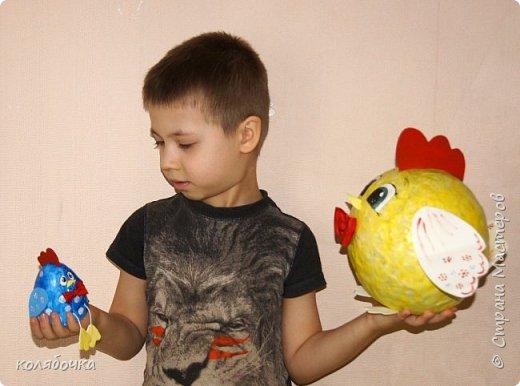 Семейство курочек делали с Максом для следующего этапа конкурса.С нашим городком в коробке мы прошли второй этап,это третий. фото 1