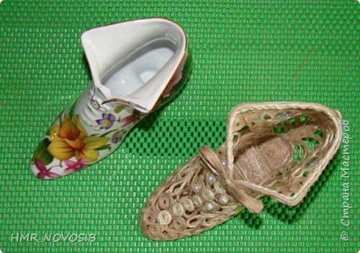 Здравствуйте, дорогие друзья! Я сегодня к вам с еще одной туфелькой, джутовой. Если кому-то интересно как я ее делаю можно посмотреть тут: http://stranamasterov.ru/node/1003126   фото 8