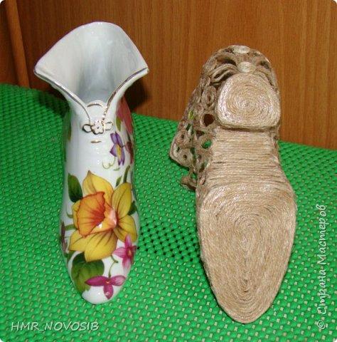 Здравствуйте, дорогие друзья! Я сегодня к вам с еще одной туфелькой, джутовой. Если кому-то интересно как я ее делаю можно посмотреть тут: http://stranamasterov.ru/node/1003126   фото 7