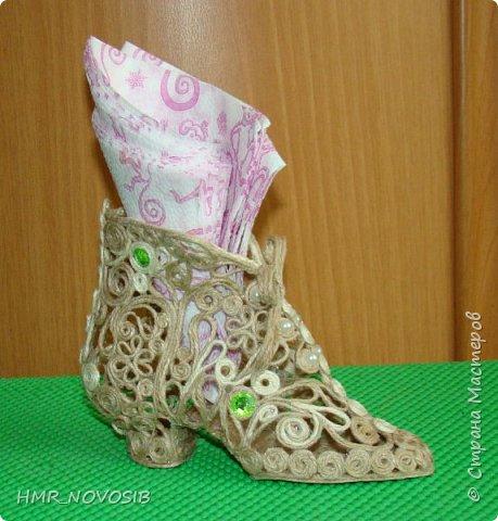 Здравствуйте, дорогие друзья! Я сегодня к вам с еще одной туфелькой, джутовой. Если кому-то интересно как я ее делаю можно посмотреть тут: http://stranamasterov.ru/node/1003126   фото 9