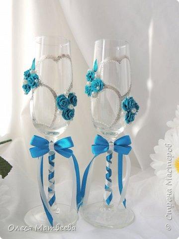 Казна и свадебные бокалы. фото 5