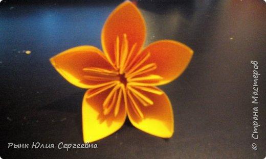 Один из видов оригами - кусудама. Кусудама – это цветочный шар из бумаги. Техника его изготовления популярна во всем мире. Кусудамы делают поэтапно. Вначале создаются объемные лепестки, затем их объединяют в один большой цветок. Склеенные между собой цветки образуют красивый и объемный шар.  фото 15
