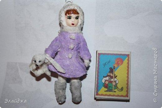 Вот за выходные получилась  Девчушка с зайцем, имя ей еще не придумала, как и цвета в которые  раскрашу.  фото 8