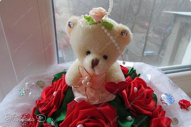 Мой букетик с мишкой на свадьбу. фото 2
