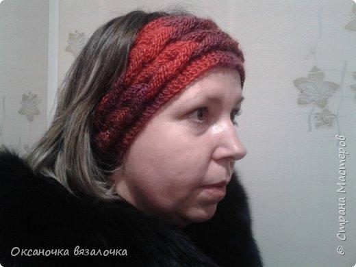 Шапка косами  фото 5
