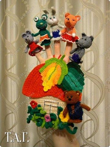 Продолжаю вязать пальчиковые игрушки для внука.  фото 19