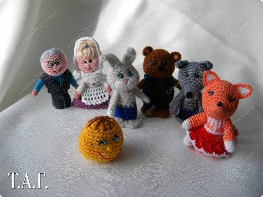 Продолжаю вязать пальчиковые игрушки для внука.  фото 4